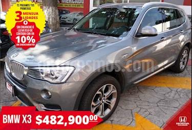 BMW X3 xDrive28iA usado (2017) color Plata precio $482,900