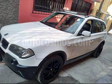 BMW X3 2.5i Lujo usado (2006) color Blanco precio $90,000