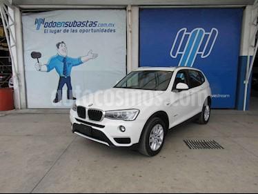 BMW X3 5p xDrive 20i L4/2.0/T Aut usado (2015) color Blanco precio $217,000