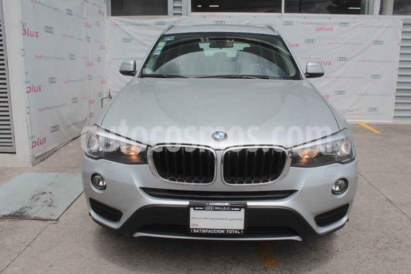 BMW X3 sDrive20iA Executive usado (2017) color Plata precio $360,000