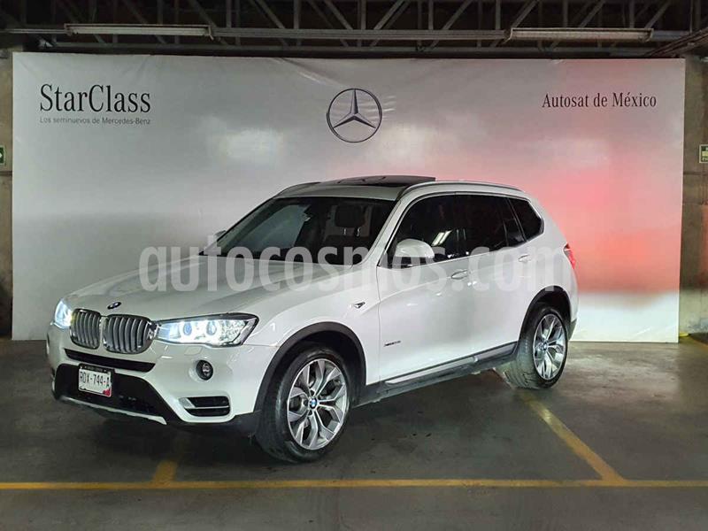 BMW X3 xDrive28iA usado (2017) color Blanco precio $459,000