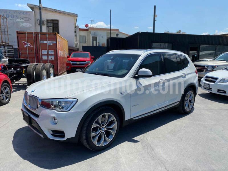 BMW X3 xDrive35iA X Line usado (2016) color Blanco precio $649,800
