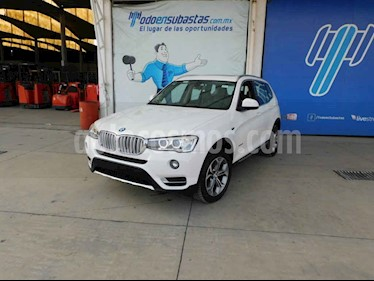 BMW X3 xDrive28iA X Line usado (2015) color Blanco precio $240,000