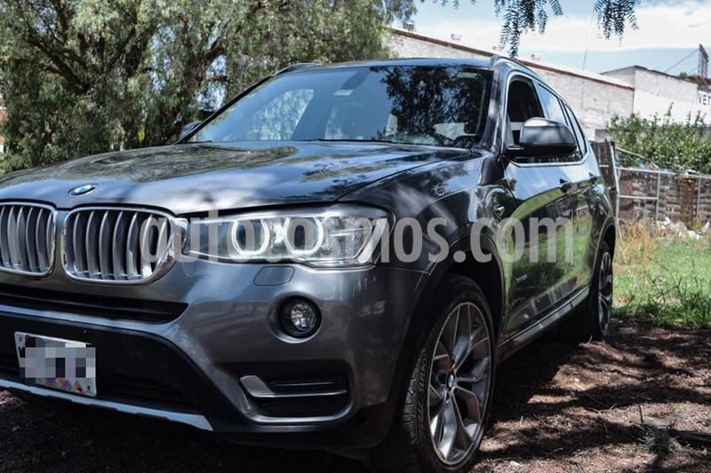 BMW X3 xDrive28iA usado (2015) color Gris precio $360,000