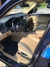 foto BMW X3 xDrive28iA Top usado (2012) color Azul precio $210,000