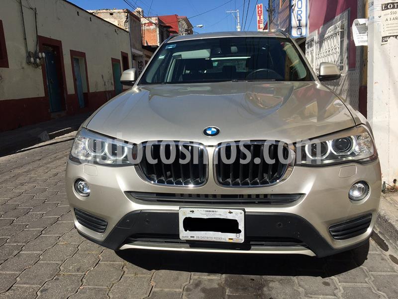 BMW X3 sDrive20iA usado (2015) color Plata precio $299,900
