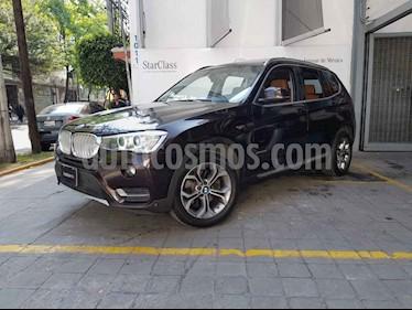BMW X3 xDrive28iA X Line usado (2015) color Vino Tinto precio $355,000