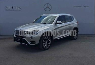 BMW X3 5p sDrive 28i X Line L4/2.0/T Aut usado (2017) color Plata precio $444,900
