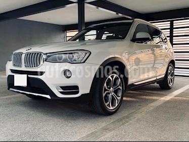BMW X3 xDrive28iA X Line usado (2017) color Blanco Alpine precio $498,000