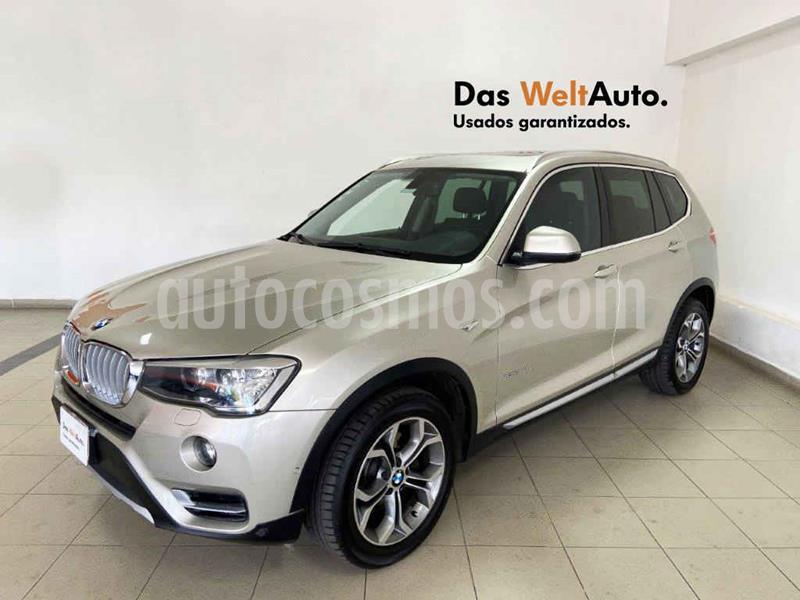 Foto BMW X3 xDrive28iA usado (2015) color Beige precio $379,995