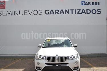 BMW X3 xDrive28iA X Line usado (2016) color Blanco precio $499,900