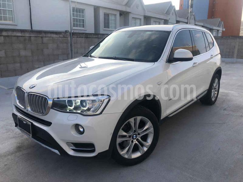 BMW X3 xDrive28iA usado (2017) color Blanco precio $450,000