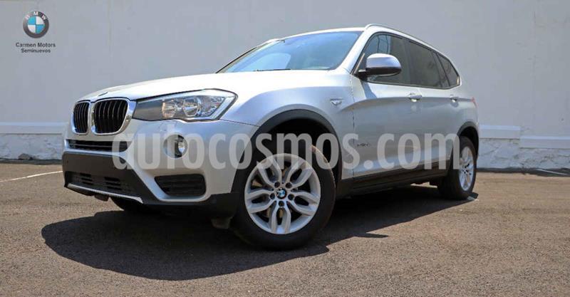 BMW X3 sDrive20iA Executive usado (2017) color Plata precio $440,000