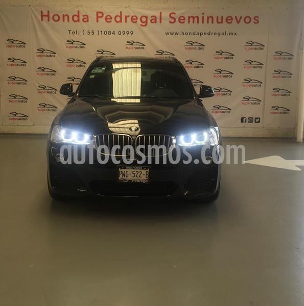 BMW X3 xDrive35iA M Sport usado (2016) color Negro precio $427,000