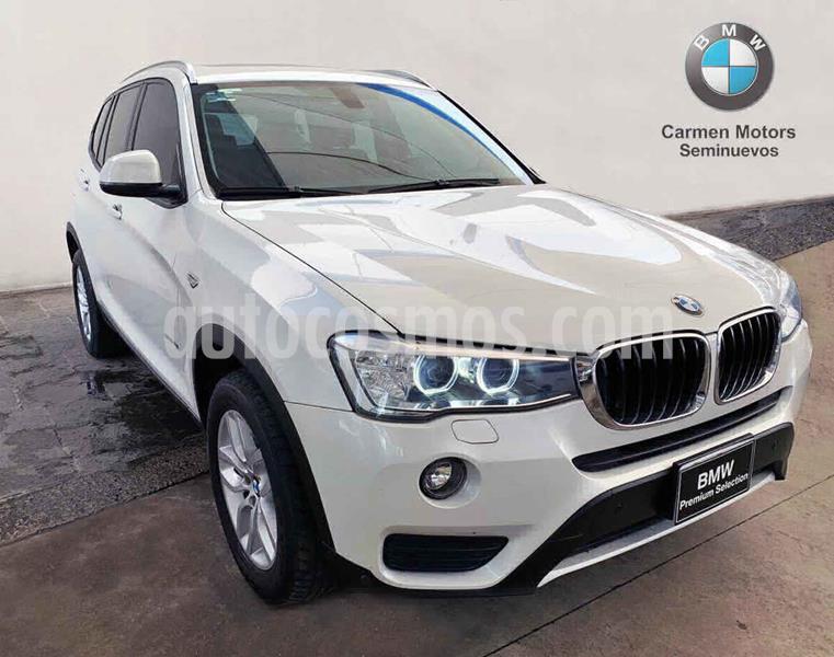 BMW X3 sDrive20i usado (2017) color Blanco precio $435,000