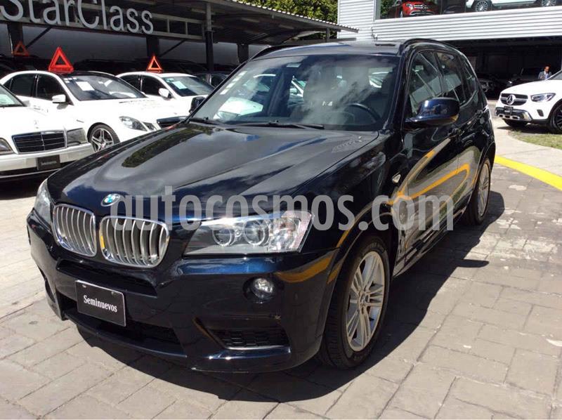BMW X3 xDrive28iA M Sport usado (2012) color Azul precio $260,526
