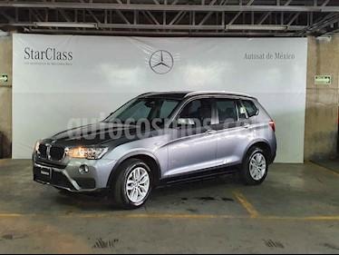 BMW X3 sDrive20iA usado (2017) color Gris precio $399,000