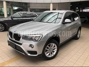 Foto BMW X3 5p sDrive 20i L4/2.0/T Aut Business usado (2017) color Plata precio $385,000