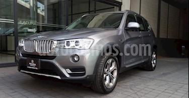 BMW X3 5P 28I X LINE TA 4X4 usado (2017) color Gris precio $475,000