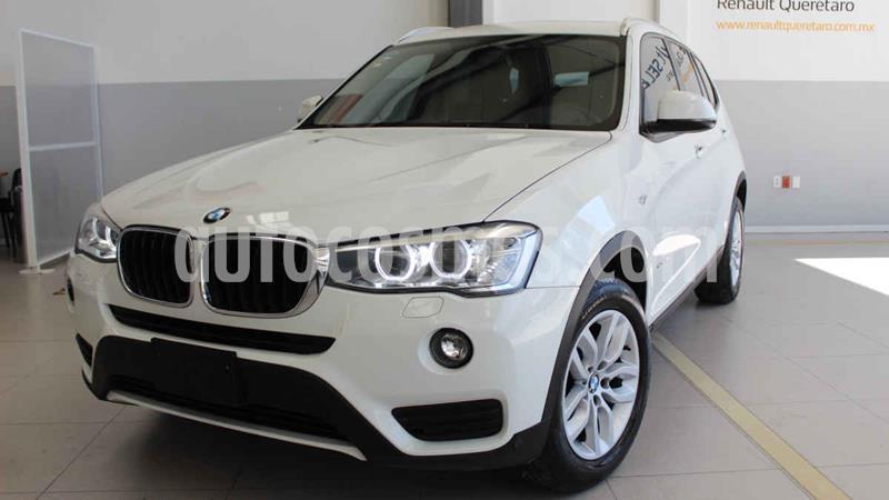 BMW X3 sDrive20i usado (2017) color Blanco precio $373,000