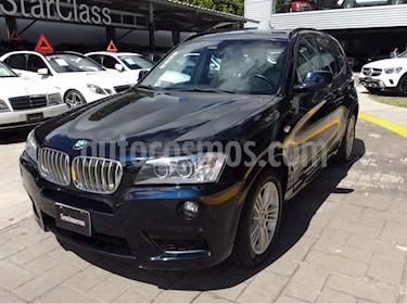 BMW X3 5p 28iA XDrive M Sport aut usado (2012) color Azul precio $260,526