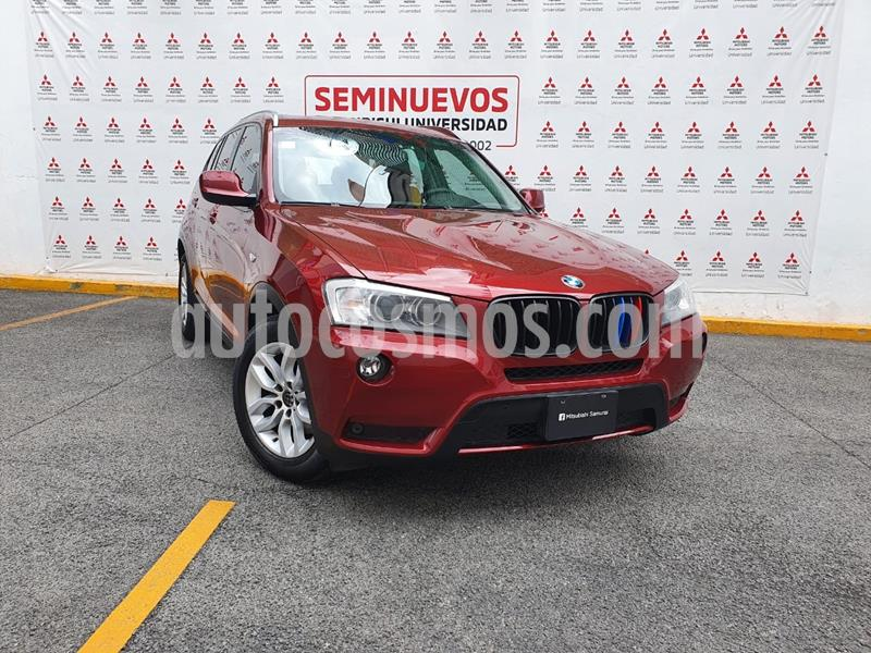 BMW X3 2.5i  usado (2014) color Rojo precio $250,000