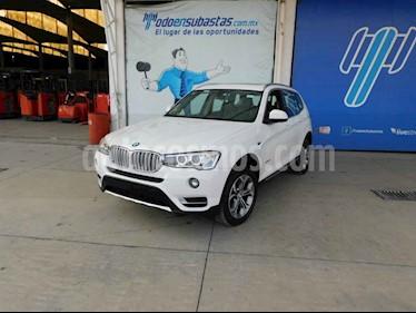 BMW X3 5p xDrive 28i X Line L4/2.0/T Aut usado (2015) color Blanco precio $190,000