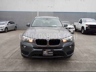 BMW X3 5p sDrive 20i L4/2.0/T Aut Business usado (2016) color Gris precio $315,500