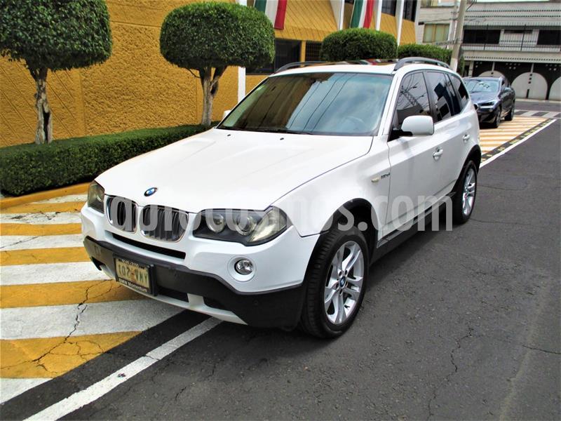 BMW X3 3.0siA  usado (2008) color Blanco precio $149,900