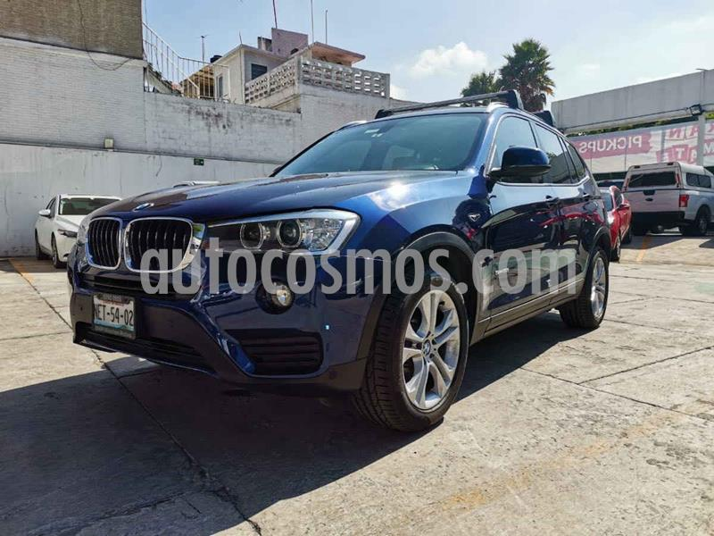 BMW X3 sDrive20i usado (2017) color Azul precio $439,000