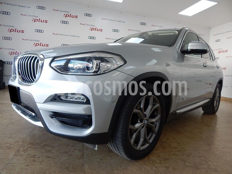 BMW X3 xDrive30iA X Line usado (2018) color Plata Dorado precio $650,000