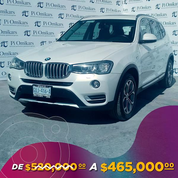 Foto BMW X3 xDrive28iA X Line usado (2017) color Blanco precio $465,000