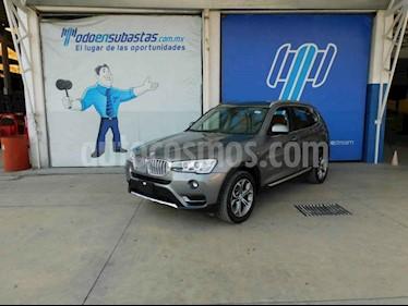 BMW X3 5p xDrive 28i X Line L4/2.0/T Aut usado (2016) color Gris precio $246,000
