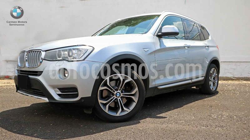 BMW X3 xDrive28iA usado (2017) color Plata precio $560,000