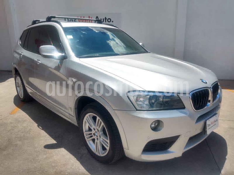 BMW X3 xDrive28iA M Sport usado (2012) color Plata precio $249,000
