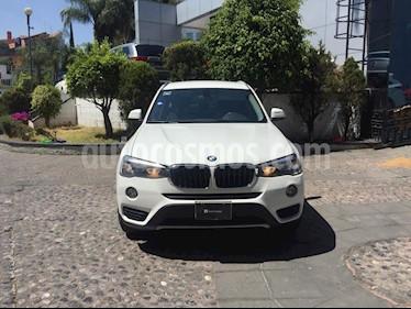 BMW X3 sDrive20iA usado (2015) color Blanco Alpine precio $320,000