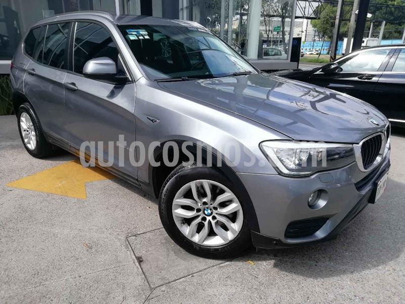 BMW X3 sDrive20i usado (2017) color Gris precio $379,000