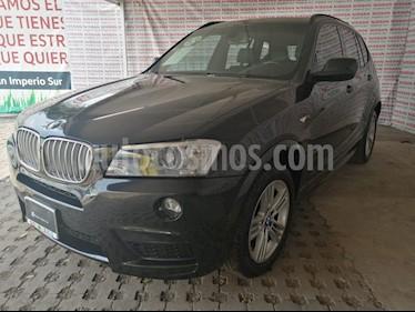 BMW X3 xDrive28iA M Sport  usado (2013) color Negro precio $260,000