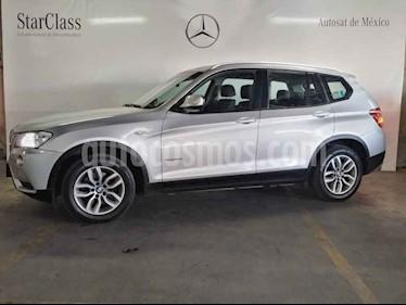 BMW X3 xDrive28iA usado (2014) color Plata precio $339,000