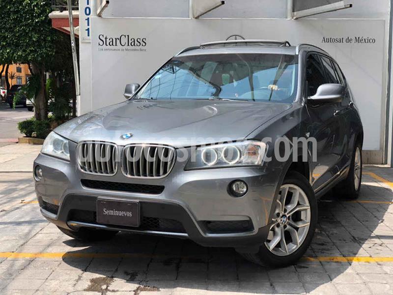 BMW X3 xDrive28iA Top usado (2013) color Gris precio $250,000