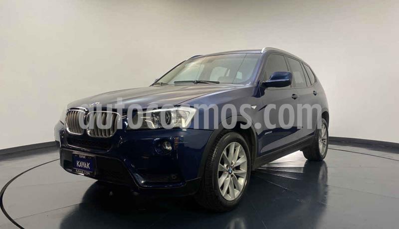 BMW X3 xDrive35iA Top usado (2013) color Azul precio $297,999