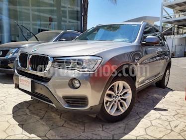 foto BMW X3 5p 3.0 sDrive 20iA AT usado (2017) color Gris precio $370,000