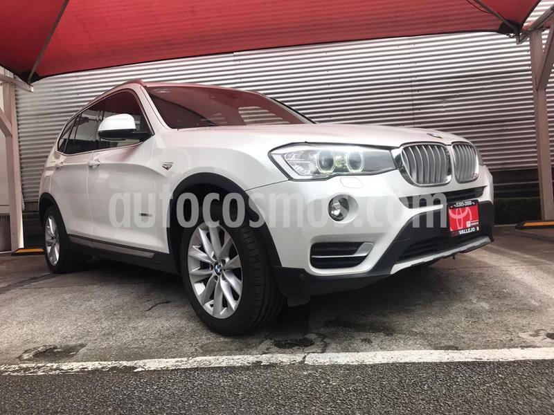 BMW X3 xDrive28iA X Line usado (2015) color Blanco precio $330,000