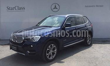 Foto BMW X3 5p sDrive 28i X Line L4/2.0/T Aut usado (2017) color Azul precio $464,900