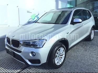 Foto venta Auto usado BMW X3 sDrive20iA (2017) color Plata precio $465,000