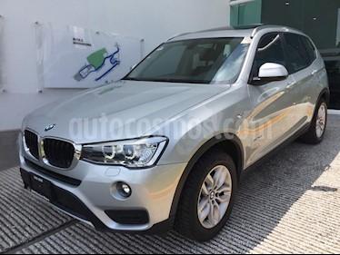 Foto venta Auto usado BMW X3 sDrive20iA (2015) color Plata precio $365,000