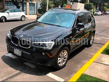 BMW X3 sDrive20iA usado (2015) color Negro precio $350,000