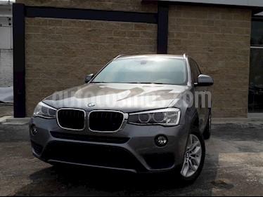 Foto BMW X3 sDrive20iA usado (2015) color Gris precio $380,000