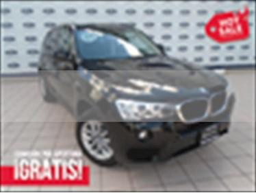 BMW X3 X3 SDRIVE20IA usado (2017) color Negro precio $450,000
