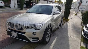 BMW X3 xDrive28iA Lujo  usado (2016) color Bronce precio $440,000
